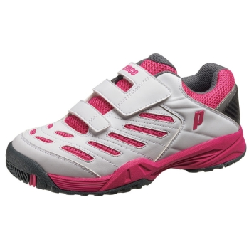 Prince DPS853 All Court White/Pink Junior Shoes