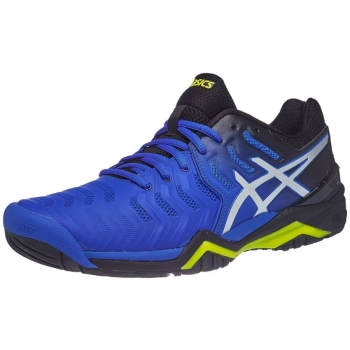 Asics Gel-Resolution 7 Blue/Silver Men's Shoes