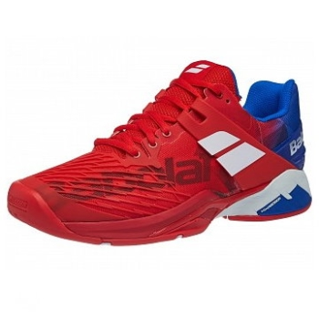 Babolat Propulse Fury All Court Red/Blue Men's Shoes