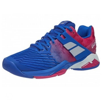 Babolat Propulse Fury All Court Blue/Pink Women's Shoes
