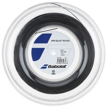 Babolat RPM Blast Rough 16 Reel 200m Black String