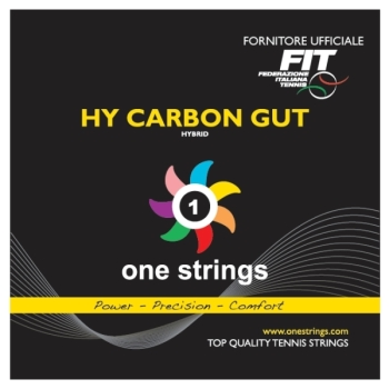 One Strings Hybrid Carbon Gut 1.30/1.22 String